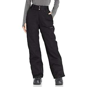 Arctix Women's Insulated Snow Pants, Black, X-Small/Regular