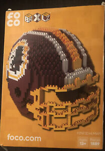 NFL BRXLZ Team Helmet 3-D Construction Block Set, WASHINGTON REDSKINS Free Ship!