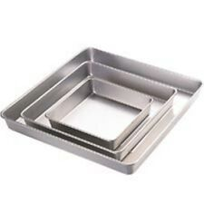 Wilton 3 Piece Square Celebration Cake Pan Set For 3 Tiers Wedding Christening
