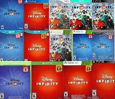 vaDISNEY INFINITY Game Disc CDs DVD 1.0 2.0 3.0 🎼