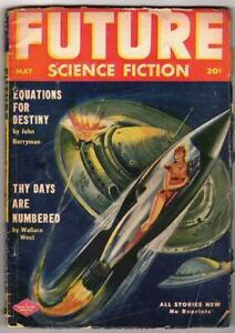 Future Science Fiction May 1952 Berryman, West, del Rey, de Camp