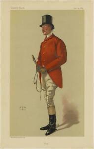 Vanity Fair Print : Capt William George Middleton  1883 + Copy Bio