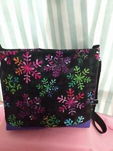 Christmas's Quilted Crosssbody Bag