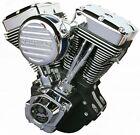 "Ultima El Bruto Complete Evolution 127"" Black Motor Engine Harley Evo Big Twin"