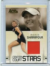 2006 ACE AUTHENTIC CENTER COURT STARS MARIA SHARAPOVA WORN JERSEY CC-14