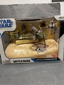 Star Wars 2008 Legacy Collection Ultimate Battle Pack BATTLE AT THE SARLACC PIT
