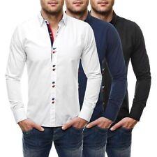 Camicie casual e maglie da uomo multicolore in cotone