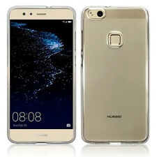 Huawei P10 Lite High Impact Resistant Silicone Gel TPU Flex Bumper Shell Clear