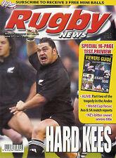 Nz Rugby News 34-16, 11 Jun 2003 Kees Meeuws, Ben Hurst, England tour of Nz