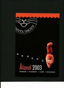 Aland Finland 1998 Year set complete including booklets in official folder. MNH