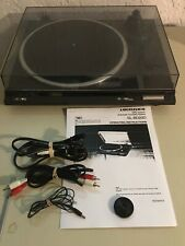 New ListingTechnics Sl-Bd20D Turntable Record Player Fresh Stylus User Manual Ground Wire