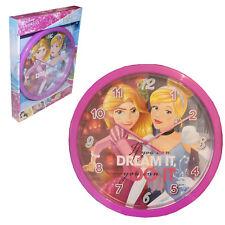 Bambini Orologio da parete Troll Impronta Pattuglia Principesse Ufficiale Disney Princess