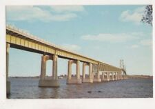 Ogdensburg - Prescott Bridge St Lawrence River Canada 1963 Postcard US068