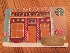 "Canada Series Starbucks ""GINGERBREAD HOUSE 2016"" Gift Card - New No Value"