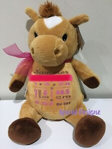 **CLEARANCE**Personalised  Horse Plush Toy