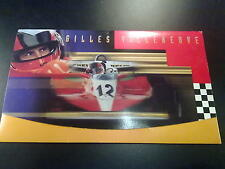 Stamps Gilles Villeneuve cover with 2 FDC Canada Post Corporation