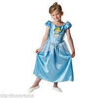 Girls Classic Deluxe Royale Disney Princess Fancy Dress Outfit Costume Licensed