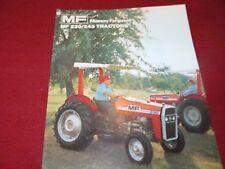 Massey Ferguson 230 245 Tractor Dealer's Brochure 777AG