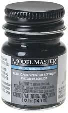 Testors Model Master Flat Engine Black 1/2 oz Acrylic Paint 4888 TES4888