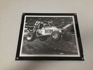 Jimmie Johnson Signed Mickey Thompson 8x10 With Press Release BF Goodrich Racing