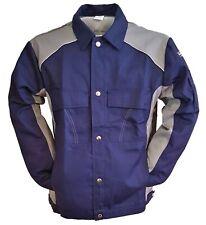 Bundjacke Arbeitsjacke Jacke Berufsjacke Berufskleidung Marine/Grau Gr 46-56