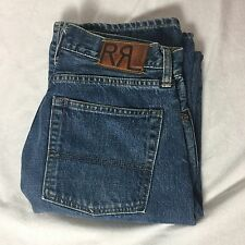 "Double RL RRL Sanforized Denim Bootcut Jeans 28""x32"" -Made in Japan"