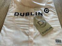 "⭐️ DUBLIN COLEMORE LADIES CREAM SHOW SHIRT SIZE 12/36"" ⭐️"