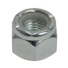 "Qty 2 Hex Nyloc Nut 9/16"" UNF Zinc Plated Steel Grade 5 Lock Insert ZP"