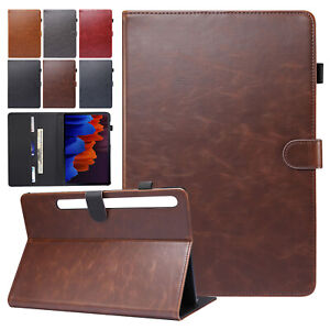 For Samsung Galaxy Tab A7 10.4''SM-T500 T505 2020 Smart Case Leather Flip Cover