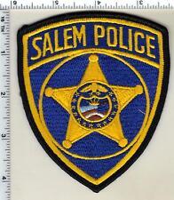 Salem Police (Oregon) Uniform Take Off Shoulder Patch from 1989