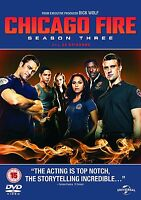 Chicago Fire - Stagione 3 [DVD] 2014 Completo 3Third Serie Nuovo 3rd Tre 3