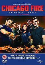 Chicago Fire - Stagione 3 [DVD] [2014] Completo Terza Serie NUOVISSIMO 3rd Tre