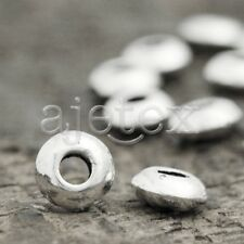 400 wholesale Tibetan Silver Oval Bead Spacers TS2599