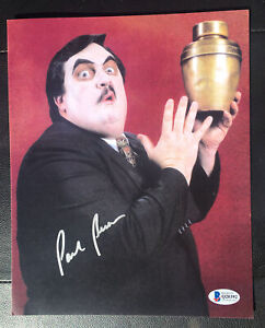 Paul Bearer signed 8x10 picture AUTOGRAPHED WWF WWE WRESTLING Beckett Q20392.