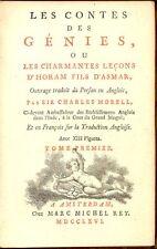 MORELL Charles - Les contes des Génies
