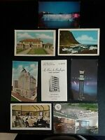 Vintage Post Cards_ Canada - Posted and Unposted - Group of 8