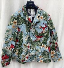Penfield palm print 3button blazer. Unlined. Size large