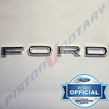 FORD Bonnet Badge Letter Set , Chrome, for FORD XR Falcon Fairmont 351 GT Hood