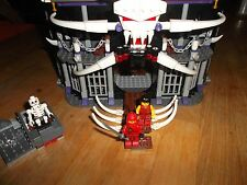 Lego 2505 Ninjago - Garmadon's Dark Fortress -100% complete with minis & manuals