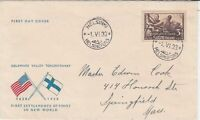 finland 1933 stamps cover ref 19537