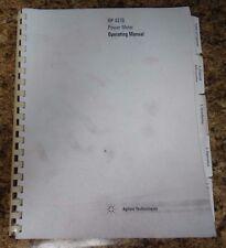 Agilent 437B Operating Manual