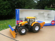1/50 ENGIN DENEIGEUSE TRACTEUR NEW HOLLAND T7070 +lame+sableur!!!