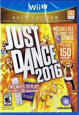 Just Dance 2016 Gold Edition (Nintendo Wii U, 2015)  *Factory Sealed*