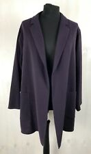BNWT Reiss Purple Gia Relaxed Fit Oversized Blazer Jacket UK Size L 18 RRP £245