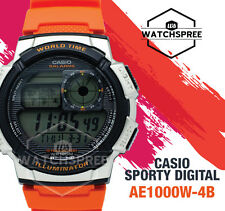 Casio Standard Digital Sporty Design Watch AE1000W-4B