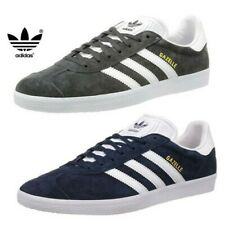 Adidas Originals Mens Gazelle Trainers Luxe Suede Leather Classic Stripe Shoes