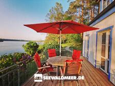 Urlaub in Mecklenburg Ferienhaus direkt am See Wald Meer Boot Schwerin Ostsee MV