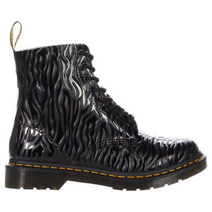 Dr. Martens Womens Boots 1460 Pascal Casual Lace-Up Goodyear-Welt Leather