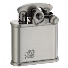 COLIBRI Oil Lighter Flint type Nickel old finish Lion 308-0007