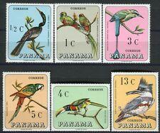 409 - Panama - Birds - Parrot - MNH(**) Set